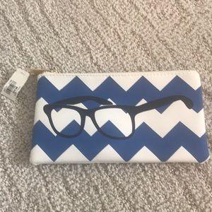 NWT LOFT Chevron Eyeglasses pouch 💝